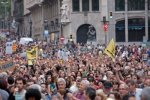 9735237-spain-barcelona--19-june-2011-spanish-protest-in-the-streets-of-barcelona-against-the-euro-zone-lead